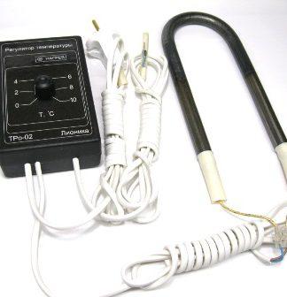 Терморегулятор ТРо-02 с ТЭНом