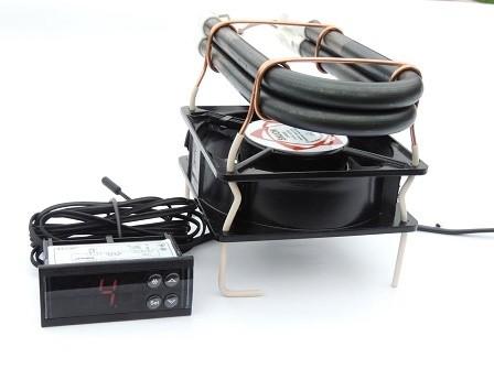 Терморегулятор ecs-961 с тепловентилятором 2х250 Вт
