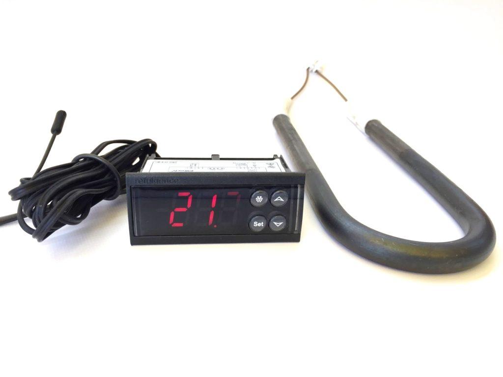 Контроллер температуры (цифровой терморегулятор) ECS-961neo c ТЭНом