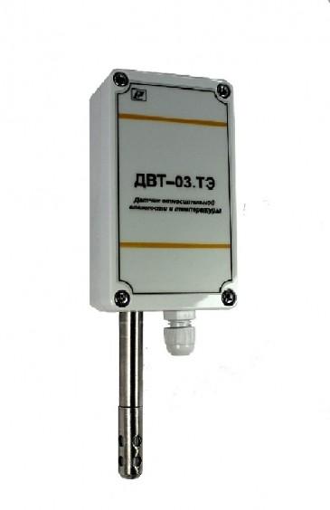 Датчик влажности и температуры воздуха ДВТ-03.ТЭ